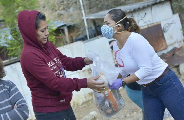 REALIZA ACCIONES CONTRA EL  COVIT EL AYUNTAMIENTO DE OAXACA.