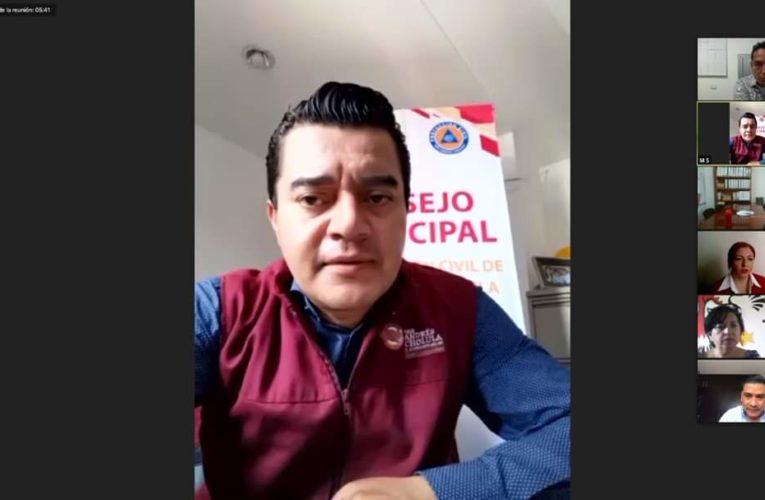 Llama protección Civil de San Andrés Cholula, a tomar las medidas sanitarias.