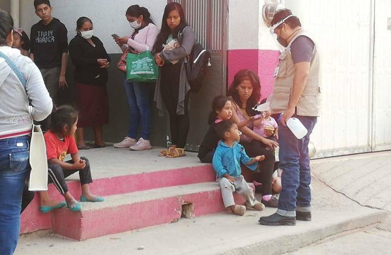 Continúa implementando medidas sanitarias el ayuntamiento de Tlapa.