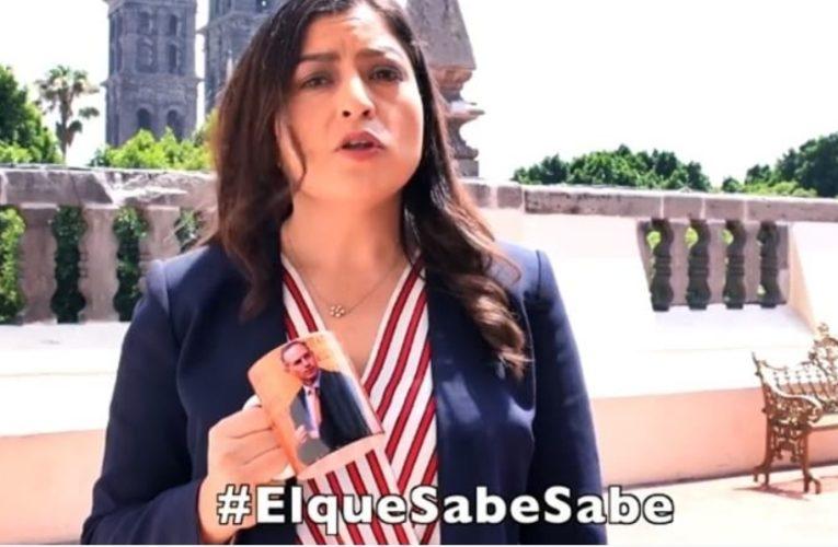 Sólo se la pasa tomando café la presidenta de Puebla; recrimina el gobernador Miguel Barbosa.