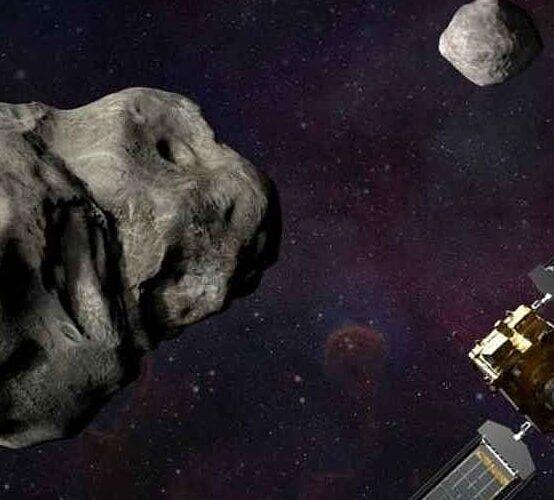 154 mdd para fabricar nave espacial que busca proteger a la Tierra del impacto de asteroides.