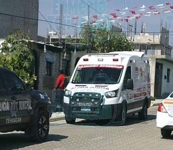 MUERE BEBÉ AHOGADO AL CAER DE MANERA ACCIDENTAL A UNA TINA DE AGUA EN TEHUACÁN.