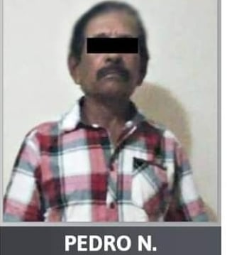 Formal prisión sujeto que abusó de su nieta.