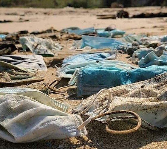 Hay más de mil 500 millones de cubrebocas en el mar!!