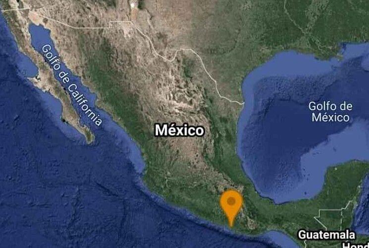 18 réplicas del sismo magnitud 5.7 ocurrido en San Marcos,Guerrero.