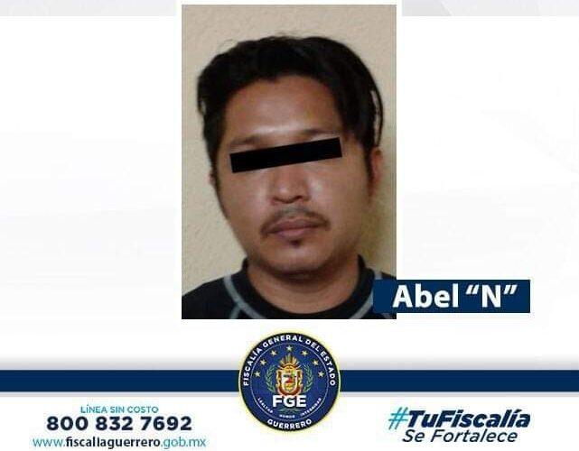 """Fiscalía de Guerrero obtuvo prisión preventiva en contra de Abel """"N"""" por delito de Violación a menor en Acapulco."""
