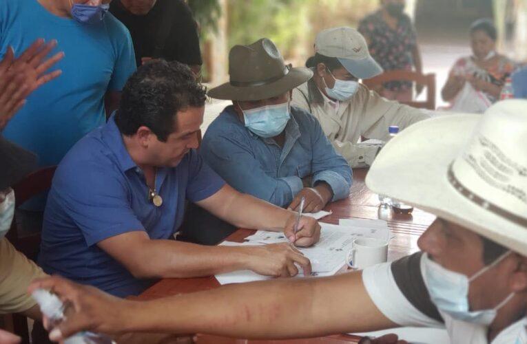 Logra negociación política el frente popular de la montaña, tomando como rehen a Tlapa.