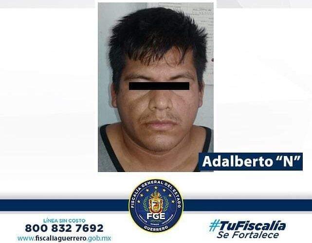 8 años de prisión en contra presunto violador en Ayutla de los Libres, región Costa Chica.