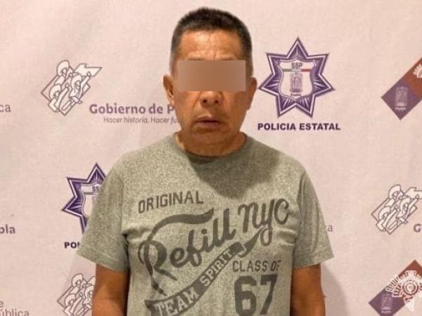 Cayó presunto líder criminal de Tehuacán.