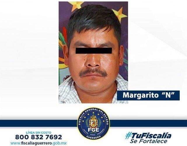 Capturan a presunto asesino de Ometepec.