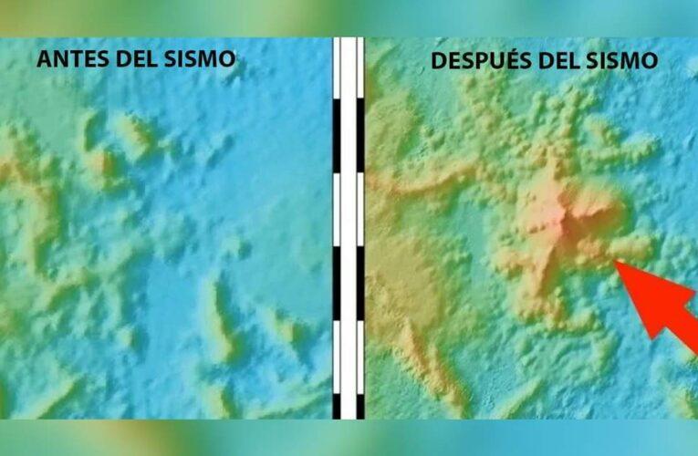Terremoto mundial revela el nacimiento de un enorme volcán bajo el océano