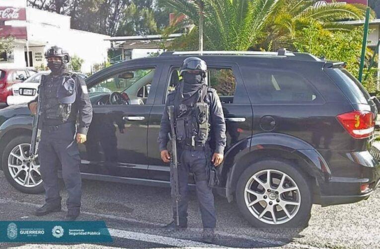 Recupera la Policía Estatal un vehículo en el municipio de Chilpancingo