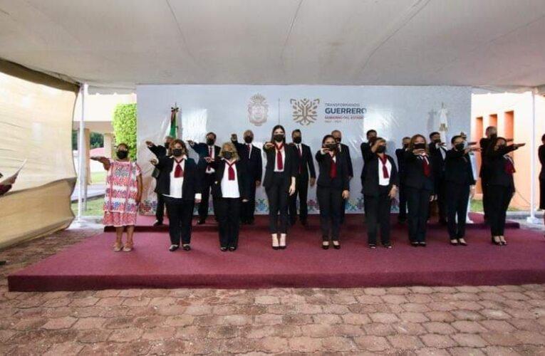 Presenta la Gobernadora Evelyn Salgado Pineda Gabinete paritario en Guerrero