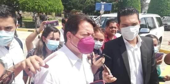 Astudillo dejó a Evelyn unas finanzas públicas devastadas: Mario Delgado